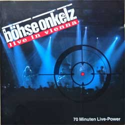 BOHSE ONKELZ ''Live In Vienna'' (1992 German press, matrix Interpress, 290.09.071, vg+/ex) (CD)