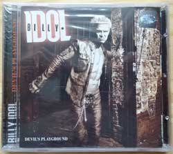BILLY IDOL ''Devil's Playground'' (2005 Russian RARE press, mint/mint, still sealed) (CD) (D)