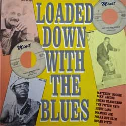винил LP va LOADED DOWN WITH THE BLUES (1987 UK press, CRB 1170, ex/ex+)