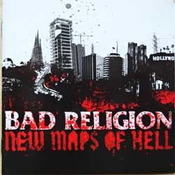 BAD RELIGION ''New Maps Of Hell'' (2007 Russian RARE press, 80803-2, mint/mint) (CD)