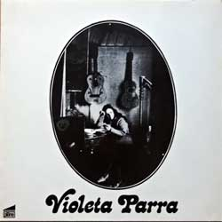 винил LP VIOLETTA PARRA ''Santiago, Penando Estas'' (1971 RI 1974 German press, insert, P 12 DF 45, near mint/near mint) (D)