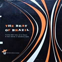 винил LP WALDIR CALMON And His Orchestra ''The Beat Of Brazil'' (1959 Australian RARE press, CLUB edition, laminated, M-6, ex-/vg+) (D)