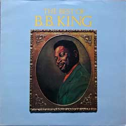 винил LP B.B. KING ''The Best Of B.B. King'' (1973 RI 1981 UK press, MCL 1612/COPS 10142, ex-/ex)