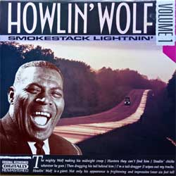 винил LP HOWLIN' WOLF ''Smokestack Lightnin' Volume 1'' (1990 Belgium press, RTS 113004, ex/ex)
