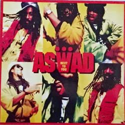 винил LP ASWAD ''Next To You'' (4-track 12'') (1990 German press, Unverkaufliches Muster sticker, 613558 213, ex-/ex-)