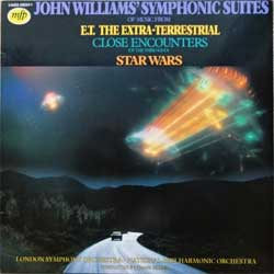 винил LP JOHN WILLIAMS ''Symponic Suites Of Music From E.T. The Extra-Terrestrial, Close Encounters (Of The Third Kind), Star Wars'' (1982 Holland press, 1A022-58259Y, ex/ex)
