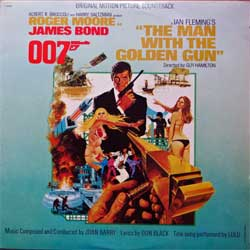 винил LP JAMES BOND 007: THE MAN WITH THE GOLDEN GUN - OST (1974 RI early 1980's USA press, LW-50358, ex/ex)