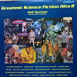 винил LP NEIL NORMAN And His COSMIC ORCHESTRA ''Greatest Science Fiction Hits II'' (1981 USA press, insert, GNPS-2133, ex-/ex)