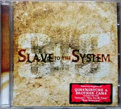 QUEENSRYCHE (SLAVE TO THE SYSTEM) ''Slave To The System'' (2006 German press, original sticker, SPITCD263/GAS 0000263 SPR, matrix manufactured by optimal media production A645002-01, mint/mint) (CD)