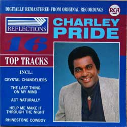 CHARLEY PRIDE ''16 Top Tracks'' (1988 German press, CD 90214, matrix Sonopress, near mint/near mint) (CD)