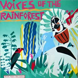 KALULI ''Voices Of The Rainforest'' (1991 EEC press, RCD 10173, matrix Mastered By Nimbus, near mint/near mint) (CD)(D)