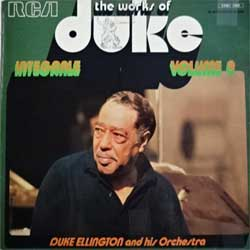 винил LP DUKE ELLINGTON and His Orchestra ''The Works Of Duke - Integrale Volume 9 (Black & White Series)'' (197? France press, laminated, FPM1 7002, ex+/ex-)