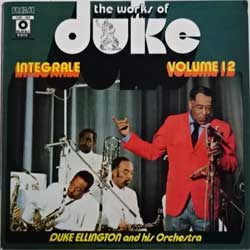 винил LP DUKE ELLINGTON and His Orchestra ''The Works Of Duke - Integrale Volume 12 (Black & White Series)'' (197? France press, laminated, FXM1 7094, ex/ex)
