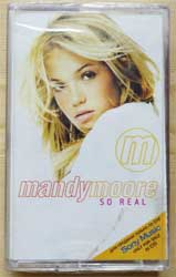 аудиокассета MANDY MOORE ''So Real'' (2000 Russian press, EPC 4964194, mint/mint, still sealed) (D) (MC1270)