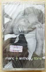 аудиокассета MARC ANTHONY ''Libre'' (2001 Russian press, COL 502080 4, mint/mint, still sealed) (D) (MC1273)