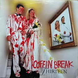 винил LP COFFIN BREAK ''Thirteen'' (1992 USA press, insert, E 86421-1, ex/ex)