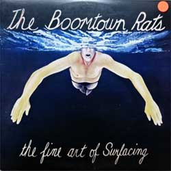 винил LP BOOMTOWN RATS ''The Fine Art Of Surfacing'' (1979 USA press, insert, JC 36248, ex/ex)