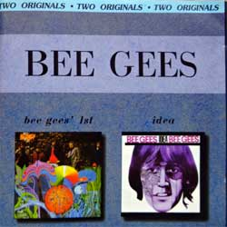 BEE GEES ''Bee Gees' 1st/Idea'' (1967/1968 RI 2001 Russian RARE press, 2 original albums on 1 CD, matrix Azcd 794, ex-/mint) (CD)