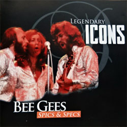 BEE GEES ''Spics & Specs (Legendary Icons Series)'' (1997 RI UK press, 8653, matrix 8653 #1 ODR, ex/mint) (CD)