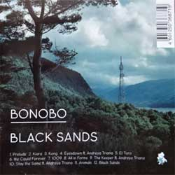 BONOBO ''Black Sands'' (2010 Russian press, ZENCD140, mint/mint) (CD) (D)