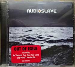 AUDIOSLAVE ''Out Of Exile'' (2005 German press, original sticker, 0602498815632, matrix EDC, mint/mint) (CD)