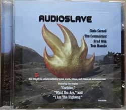 AUDIOSLAVE ''Audioslave'' (2002 EU press, original sticker, 5101302000, matrix Sony Music, mint/mint) (CD)