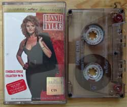 аудиокассета BONNIE TYLER ''Comeback Single-Collection '90-'94'' (1994 RI 2000 Russian press, 74321 23306 4, mint/mint) (MC1369)