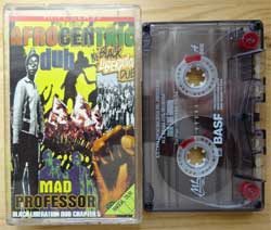 аудиокассета MAD PROFESSOR ''Afrocentric Dub: Black Liberation Dub Chapter 5'' (1998 Russian press, 3374, mint/mint) (MC1376)