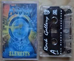 "аудиокассета ATHEIST '""Elements'' (1993 RI 2001 Russian press, RG0224, near mint/near mint) (D) (MC1402)"