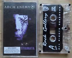 аудиокассета ARCH ENEMY ''Stigmata'' (1998 RI 2001 Russian press, RG 0435, near mint/near mint) (D) (MC1404)