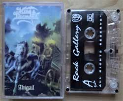 аудиокассета KING DIAMOND ''Abigail'' (1987 RI 1999 Russian press, near mint/near mint) (MC1407)