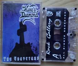 аудиокассета KING DIAMOND ''The Graveyard'' (1996 RI 1999 Russian press, near mint/near mint) (MC1408)