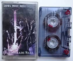 аудиокассета AXEL RUDI PELL ''The Masquerade Ball'' (2000 Russian press, 4601250111414, ex/vg+) (MC1417)