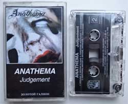 аудиокассета ANATHEMA ''Judgement'' (1999 Russian RARE press, near mint/near mint) (D) (MC1419)