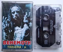 аудиокассета BEHEMOTH ''Thelema.6'' (2001 Russian press, VB300 08/IROND AC 01-3, ex/ex+) (MC1424)