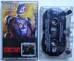 аудиокассета CEMETARY ''Metal Collection'' (2002 Russian press, RR MC-58576, ex/ex+) (MC1431)