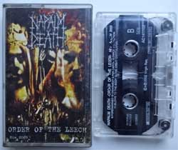 аудиокассета NAPALM DEATH ''Order Of The Leech'' (2003 Russian press, GM-32477456, ex/ex+) (MC1436)
