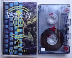 аудиокассета NAPALM DEATH ''Diatribes & Leaders Not Followers/Death By Manipulation'' (1996/1999/1993 Russian press, 558, near mint/ex) (MC1440)