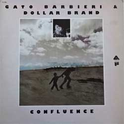 винил LP GATO BARBIERI & DOLLAR BRAND ''Confluence'' (1975 USA press, AL 1003, ex/ex)