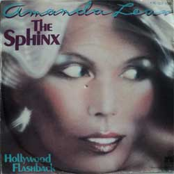 винил LP AMANDA LEAR ''The Sphinx - Hollywood Flashback'' (7''single) (1978 German press, ex-/ex-)