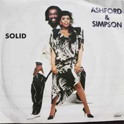винил LP ASHFORD & SIMPSON ''Solid'' (7''single) (1984 German press, ex+/ex)