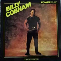 винил LP BILLY COBHAM ''Powerplay'' (1986 Finland press, insert, GRP-A 1027, ex-/ex-)