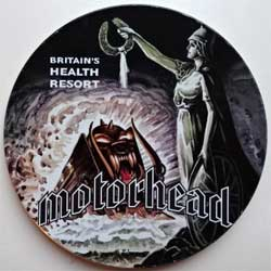 MOTORHEAD ''Britains' Health Resort'' (1995 EEC RARE press, tin box, TIN 015, matrix Mastered by Nimbus, mint/ex+)(CD)