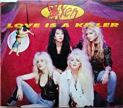 VIXEN ''Love Is A Killer'' (1990 UK RARE press, CDMT 91, matrix 204084 2 AR.1:1:1. EMI SWINDON, ex/mint) (CD) (D)