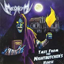 MOSHERZ ''Tales From The Nightbutcher's House'' (2019 Poland press, GMO 018, mint/mint, new) (CD)