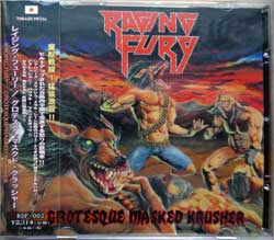 RAGING FURY ''Grotesque Masked Krusher'' (2019 Japan press, obi, RDF-002, mint/mint, new) (CD)