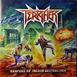 TERRIFIER ''Weapons Of Thrash Destruction'' (2018 Russian press, SAPCD 400, mint/mint, new)  (CD)