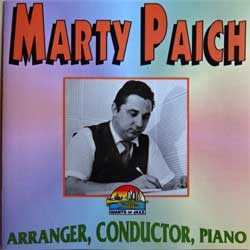 MARTY PAICH ''Arranger, Conductor, Paino'' (1995 Italy press, CD 53251, mint/mint) (CD)