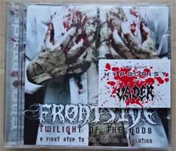 FRONTSIDE ''Twilight Of The Gods: A First Step To The Mental Revolution'' (2004 RI 2007 Russian press, MYST CD 217, ex-/near mint) (CD)