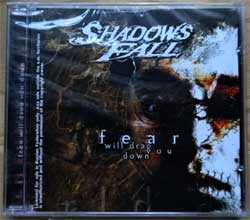 SHADOWS FALL ''Fear Will Drag You Down'' (2002 RI 2008 Russian press, MYST CD 351, mint/mint, still sealed) (CD)